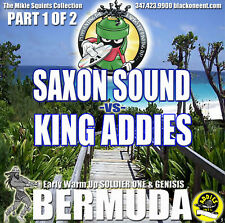 Saxon Sound vs King Addies. Bermuda Double. CD