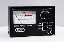 K-PO SWR/PWR 430 METER Stehwellen und Leistungsmeßgerät für CB Funk