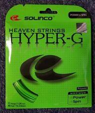 Solinco Hyper G Hyper-G 17 Gauge 1.20mm Tennis String NEW