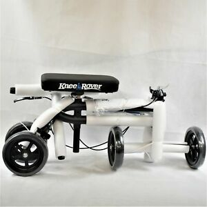 Knee Rover Move Free Black White Economy Knee Skooter Brand New In The Box