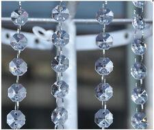 Multi-Diamond Cut Crystal Beaded Garland/Strand-72 Inch Long - 1 Piece