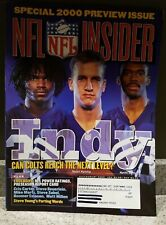 NFL INSIDER Magazine ~ Special 2000 Preview Issue ~ July/August 2000 ~ New