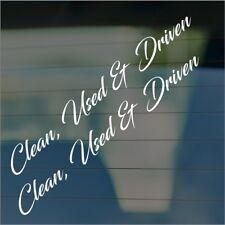 clean..Bumper Sticker Decal JDM Euro BMW 200sx silvia corolla e36 350z r33 mx5