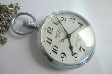 Seiko Precision Pocket Watch , Excellent Condition !