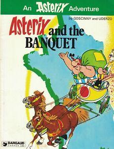 Asterix & the Banquet Goscinny & Uderzo 1980 Dargaud Canada
