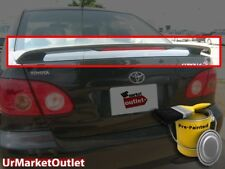 Fits 2003-08 Toyota Corolla OE Factory Style Spoiler Wing NEW Unpainted