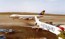PRINT of Lufthansa Boeing 747 and Avensa Boeing 727