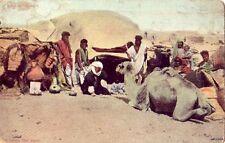EGYPTIAN NOMADIC TRIBE HUT THE BISHARINS