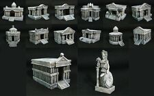 Saint Seiya Diorama Scene 12 Temples Chevalier d'Or & Grand Pope & Athena SC29