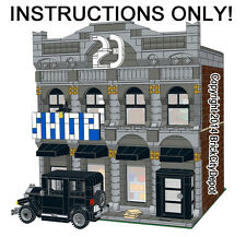 Lego Custom Modular Building - Club 23 Speakeasy & Model A -INSTRUCTIONS ONLY!