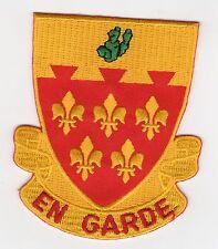 """77 FA BN - """"En Garde"""" 3.5 inch BC Patch Cat. No. C5650"""