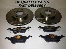 FORD FOCUS MK1 1.4 1.6 1.8 2.0 1998-2004 FRONT 2 BRAKE DISCS AND PADS SET NEW
