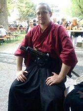 Custom Made Japanese Kimono & Hakama Pants Set Samurai Martial Arts Kendo