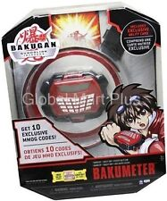 Bakugan Gundalian Invaders Bakumeter Bracelet Snap Exclusive Ability Card Sega