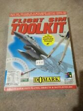 Flight Sim Toolkit PC CD-ROM Domark 1993