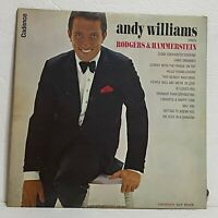 Andy Williams ‎– Sings Rodgers & Hammerstein: Cadence 1963 Vinyl LP (Jazz)