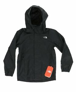 The North Face 242052 Boys Kids Resolve Waterproof Jacket Black Size S/P (7-8)