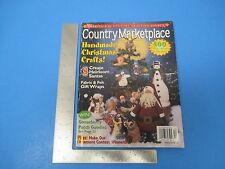 Vintage Winter 2001 Vol.11 #6 COUNTRY MARKETPLACE Handmade Christmas Crafts M537