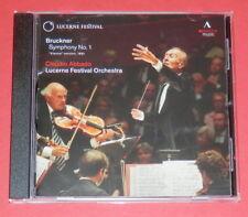 Bruckner - Symphony No. 1 (Claudio Abbado) -- CD / Klassik
