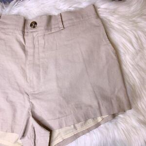 Urban Outfitters Shorts Size XL Linen Blend Pockets Lined Summer Light