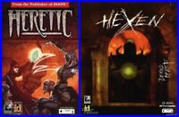 HERETIC & HEXEN + DEATH MATCH +1Clk Windows 10 8 7 Vista XP Install