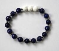 Aromatherapy Blue Bead Lava Stone Essential Oil Diffuser Bracelet