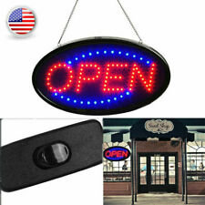 Super Bright Led Light Animated Motion with On/Off Store Open Business Sign