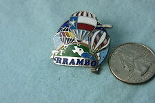 HOT AIR BALLOON PIN R RAMBO