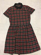 Womens size 10 river island tartan dress