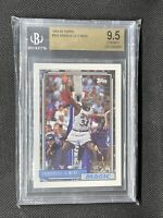 1992-93 Topps Shaquille O'Neal Shaq ROOKIE Card #362 RC BGS 9.5 Gem Mint #362📈