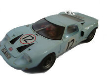 coche slot scalextric ford gt 40 fly made in spain 24 horas de le mans