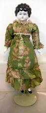 """15"""" Antique China Head Brown hair China Head Doll"""