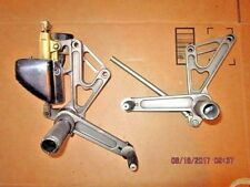 DUCATI MONSTER LEFT / RIGHT FOOT PEG ASSEMBLIES with MASTER CYLINDER MS4 GARUDA