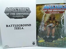 MOTUC Masters of the Universe Classics Battleground Teela Loose w/box complete