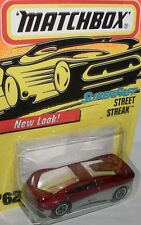 Matchbox Superfast - STREET STREAK - red/silver - #62/75-1996