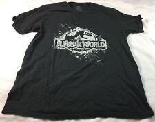 Black short sleeve Jurassic Park T-shirt, size L