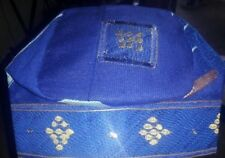 ROYAL BLUE -FILA ASO OKE 22 1/2   - MADE IN  Nigeria