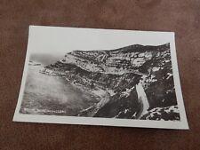 Boots cash chemist real photographic postcard - Marine Drive Llandudno  Wales