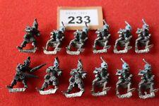 Games Workshop WARHAMMER Marauder Elfi Oscuri Elfo Balestrieri Reggimento Esercito fuori catalogo una