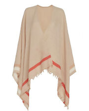 Rag & Bone Addie 100% Wool Poncho Scarf Natural Tan BNWT RRP£299
