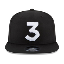 Chance The Rapper 3 New Era Cap Snapback Hat (Black) 100% Authentic * ON HAND!