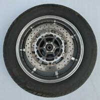 Front wheel rim tyre disc straight YAMAHA XVS1100 XVS 1100 CLASSIC 2007