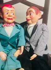 (2) JERRY MAHONEY Ventriloquist dummy puppet vintage 50s 60s Dolls