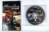 MIDNIGHT CLUB 3 DUB EDITION 2005 ROCKSTAR PS2 PLAYSTATION 2 RACING VIDEO GAME
