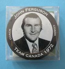 TEAM CANADA/NHL 1972 TEAM OF THE CENTURY HOCKEY PUCK / JOHN FERUSON / NEW