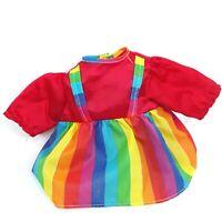 Rainbow Brite Bright doll toy dress Vintage 1980s