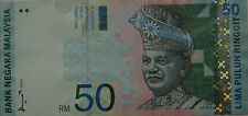 RM50 Ahmad Don side sign Note AJ 1368724 (small holes)