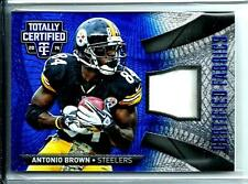 2014 Totally Certified Game Used Jersey Antonio Brown# 24/25 Pittsburgh Steelers