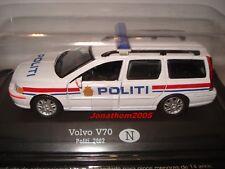 VOLVO V70 POLITI NORGE  - POLICE NORVEGE - 2002 au 1/43°