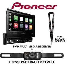 "Pioneer AVH-3300NEX 7"" DVD Receiver Apple CarPlay Bluetooth & License Backup Cam"